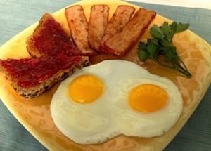 Smoked Salmon Bacon
