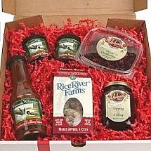 Cranberry Gift Box