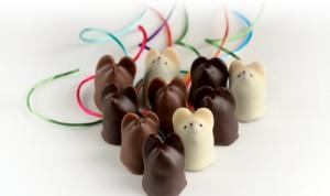 L.A. Burdick Chocolate Mice