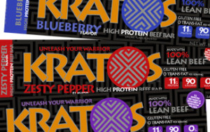 Kratos High Protein Bars