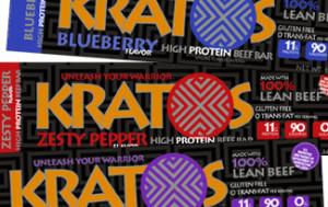 Kratos High Protein Bars