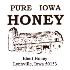 Ebert Honey From Iowa