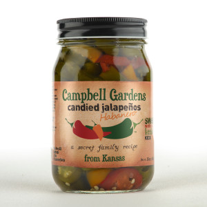 Campbell Gardens Candied Jalapenos