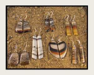 Yellowstone Agate Jewelry
