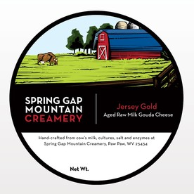 Spring Gap Mountain Cheese