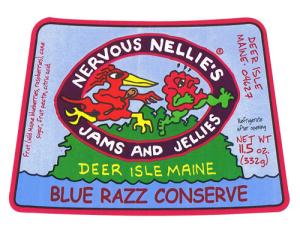 Nervous Nellie's Jams & Chutneys Maine