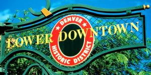 Denver LoDo Sign StateGiftsUSA.com