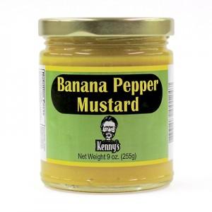 Kenny's Banana Pepper Mustard StateGiftsUSA.com