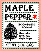 Maple Pepper StateGiftsUSA.com