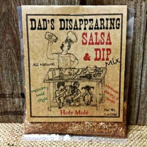 Dad's Disappearing Salsa StateGiftsUSA.com