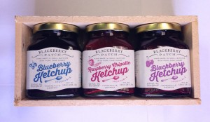 Blackberry Patch fruit ketchup StateGiftsUSA.com