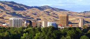 Boise Skyline StateGiftsUSA.com