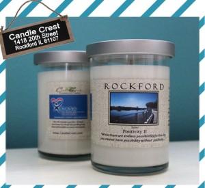 The Rockford Candle StateGiftsUSA.com