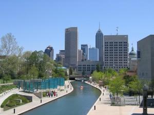 Indianapolis Skyline StateGiftsUSA.com