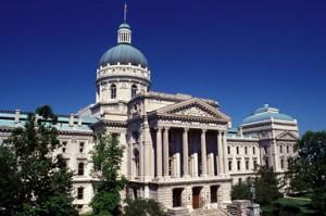 Indiana State Capitol Building, StateGiftsUSA.com