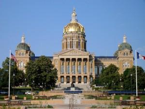 Iowa Capitol Building StateGiftsUSA.com