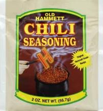 Old Hammett Chili Seasoning StateGiftsUSA.com/made-in-oklahoma