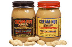 Koeze Peanut Butter StateGiftsUSA.com/made-in-michigan
