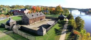 Augusta Maine Old Fort Western StateGiftsUSA.com/made-in-maine