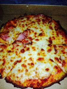Baton Rouge Fleur de Lis Pizza