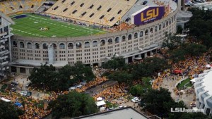 Baton Rouge LSU Campus