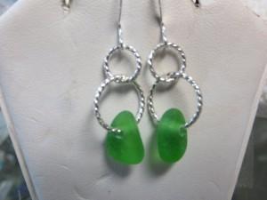 Sea Glass Jewelry StateGiftsUSA.com/made-in-rhode-island