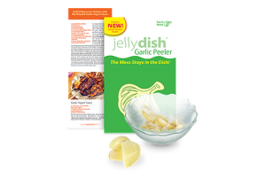 JellyDish Garlic Peeler StateGiftsUSA.com/made-in-nebraska