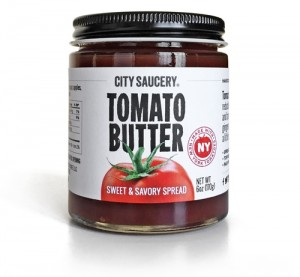 City Saucery Tomato Butter StateGiftsUSA.com/made-in-new-york
