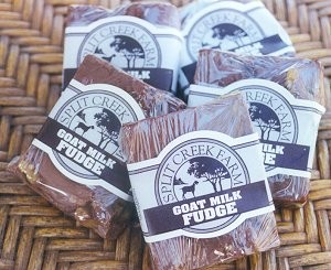 Split Creek Farm Goat Milk Fudge StateGiftsUSA.com/made-in-south-carolina