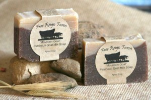 Free Reign Farm Goat Milk Soap StateGiftsUSA.com/made-in-tennessee