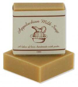 Appalachian Milk Soap StateGiftsUSA.com/made-in-west-virginia