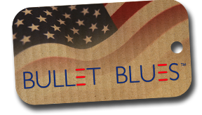 Bullet Blues StateGiftsUSA.com/made-in-florida