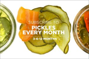Pickles of the Month Club StateGiftsUSA.com