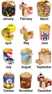 Popcorn of the Month Club StateGiftsUSA.com