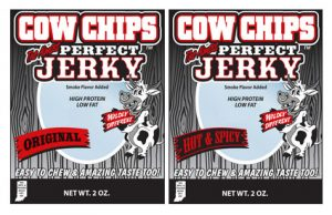 Cow Chips Jerky StateGiftsUSA.com/made-in-indiana