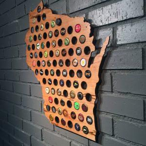 Beer Cap Maps StateGiftsUSa.com