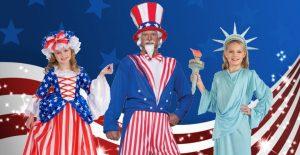 Patriotic Halloween Costumes StateGiftsUSA.com