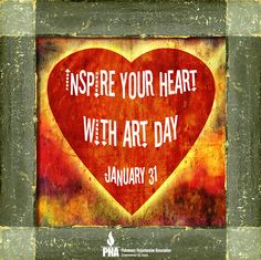 National Inspire Your Heart With Art Day StateGiftsUSA.com