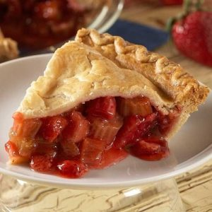National Strawberry Rhubarb Pie Day StateGiftsUSA.com